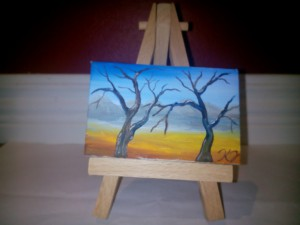 miniatyr målad av Kennet Jarmo