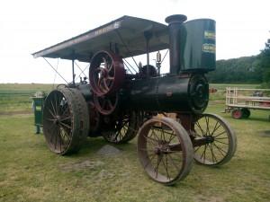 Lokomobil zackows gård