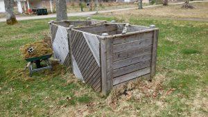 Patinerad lärk kompost