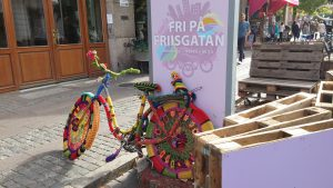 Street art cykel malmö